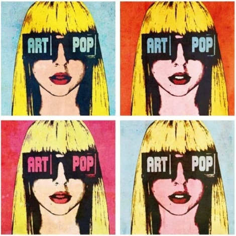 Lady Gaga's ArtPop album art Source: www.newnownext.com